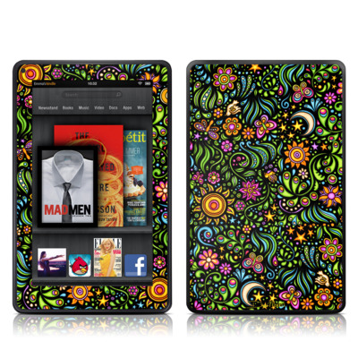 Kindle Fire Skin - Nature Ditzy