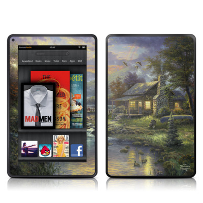 Kindle Fire Skin - Natures Paradise
