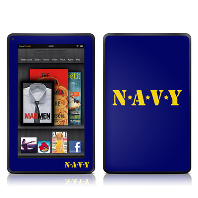 Kindle Fire Skin - Navy