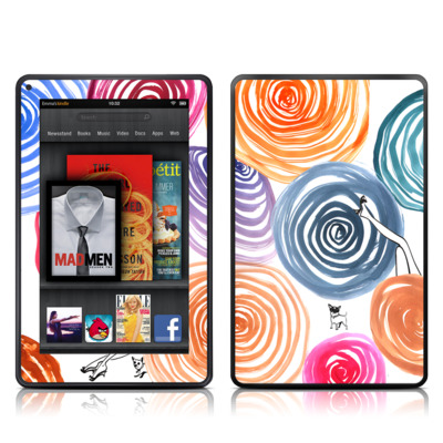 Kindle Fire Skin - New Circle
