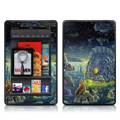 Kindle Fire Skin - Night Trawlers