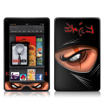 Kindle Fire Skin - Ninja