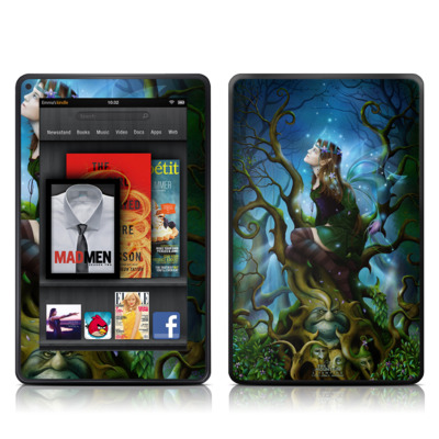 Kindle Fire Skin - Nightshade Fairy