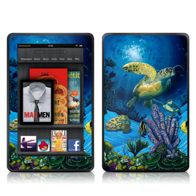Kindle Fire Skin - Ocean Fest