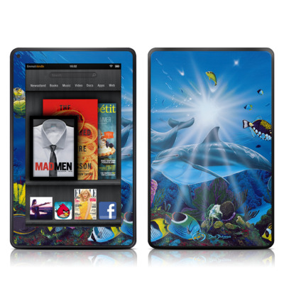 Kindle Fire Skin - Ocean Friends