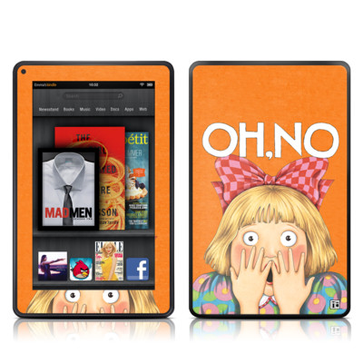 Kindle Fire Skin - Oh No