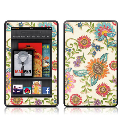 Kindle Fire Skin - Olivia's Garden