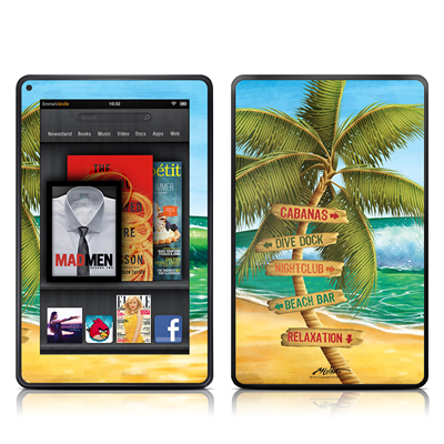 Kindle Fire Skin - Palm Signs