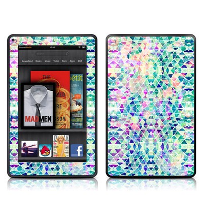 Kindle Fire Skin - Pastel Triangle