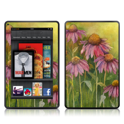 Kindle Fire Skin - Prairie Coneflower