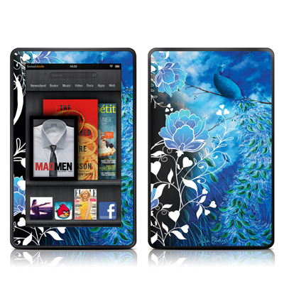 Kindle Fire Skin - Peacock Sky
