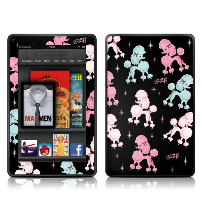 Kindle Fire Skin - Poodlerama
