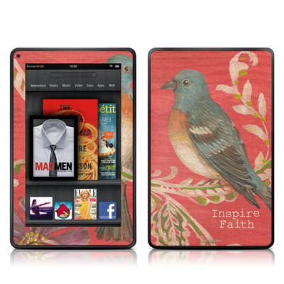 Kindle Fire Skin - Fresh Picked Fuschia