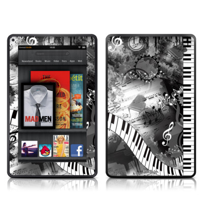 Kindle Fire Skin - Piano Pizazz