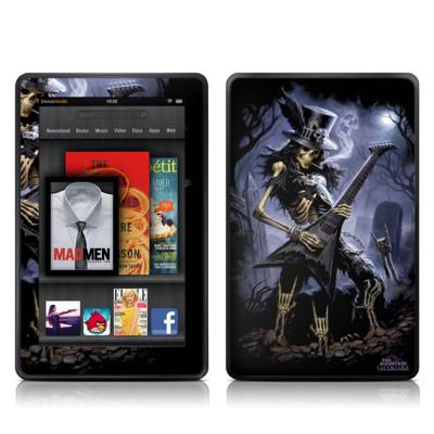 Kindle Fire Skin - Play Dead