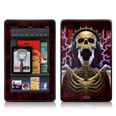 Kindle Fire Skin - Play Loud