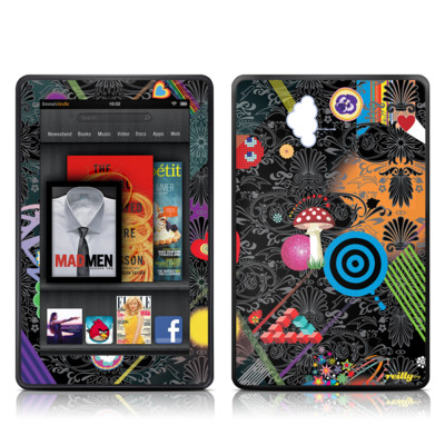 Kindle Fire Skin - Play Time
