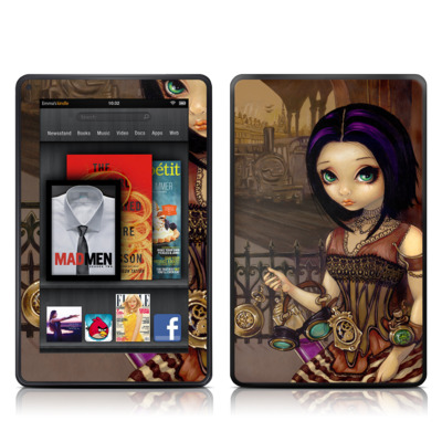 Kindle Fire Skin - Poe