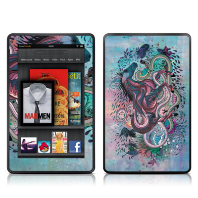 Kindle Fire Skin - Poetry in Motion