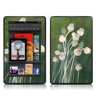 Kindle Fire Skin - Poppy Pods