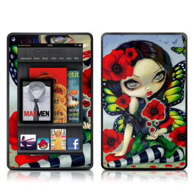 Kindle Fire Skin - Poppy Magic