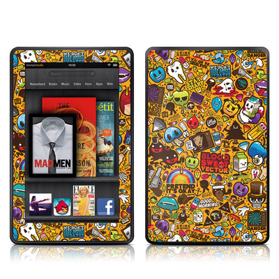 Kindle Fire Skin - Psychedelic