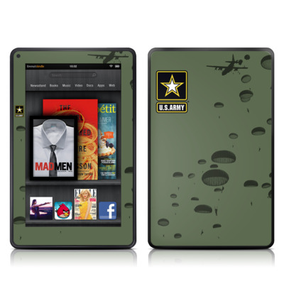 Kindle Fire Skin - Pull The Lanyard