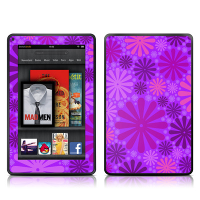 Kindle Fire Skin - Purple Punch
