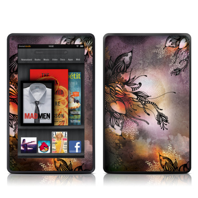 Kindle Fire Skin - Purple Rain
