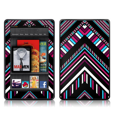 Kindle Fire Skin - Push