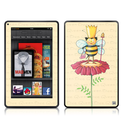 Kindle Fire Skin - Queen Bee