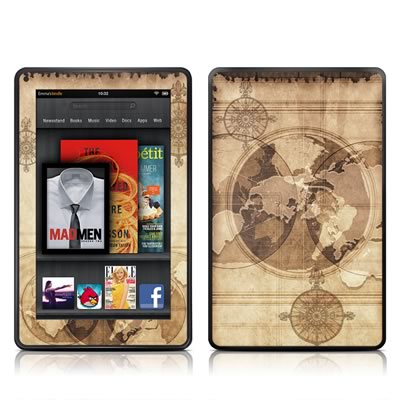 Kindle Fire Skin - Quest