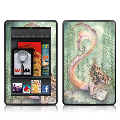 Kindle Fire Skin - Quiet Time