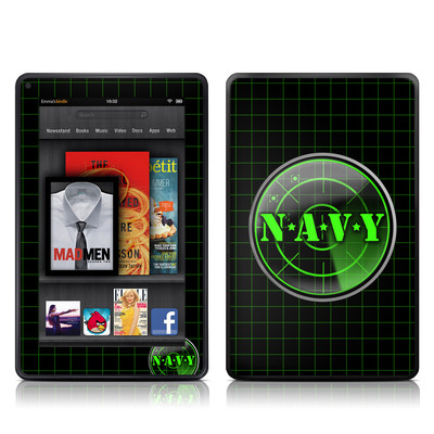 Kindle Fire Skin - Radar