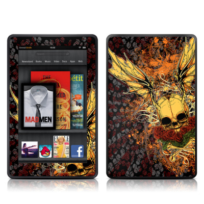 Kindle Fire Skin - Radiant Skull
