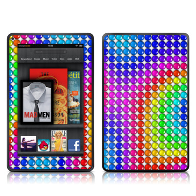 Kindle Fire Skin - Rainbow Candy