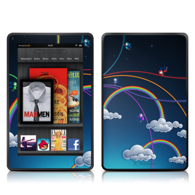 Kindle Fire Skin - Rainbows