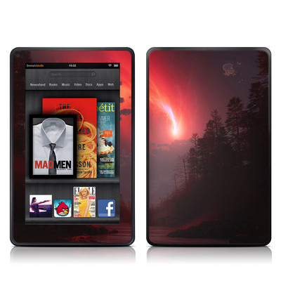 Kindle Fire Skin - Red Harbinger