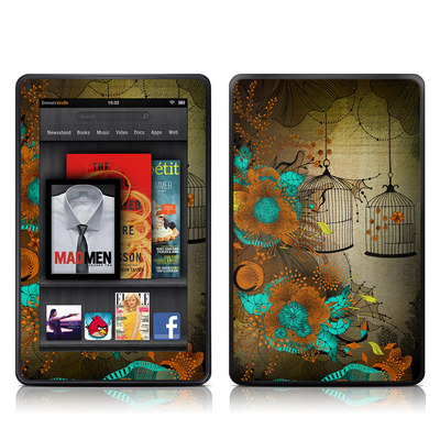 Kindle Fire Skin - Rusty Lace