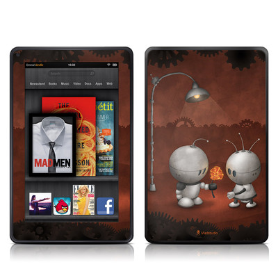 Kindle Fire Skin - Robots In Love
