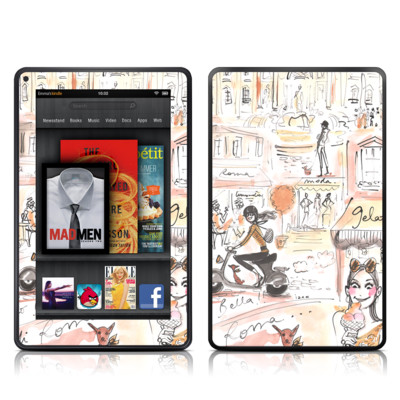 Kindle Fire Skin - Rome Scene