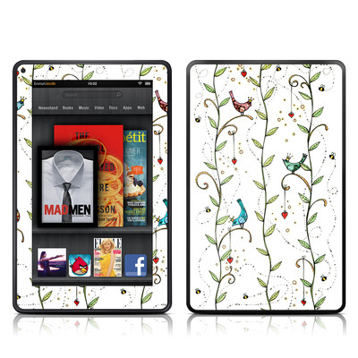 Kindle Fire Skin - Royal Birds