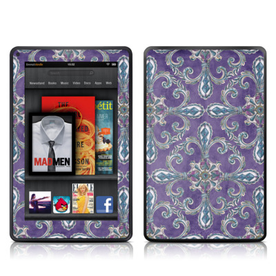 Kindle Fire Skin - Royal Crown