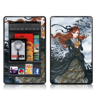 Kindle Fire Skin - Raven's Treasure