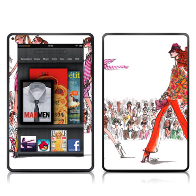 Kindle Fire Skin - Runway Runway
