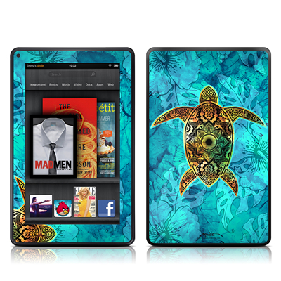 Kindle Fire Skin - Sacred Honu