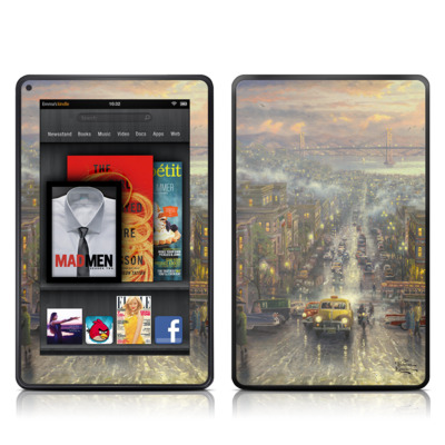 Kindle Fire Skin - Heart of San Francisco