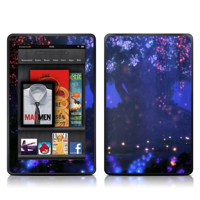 Kindle Fire Skin - Satori Night