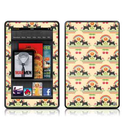 Kindle Fire Skin - Scotties