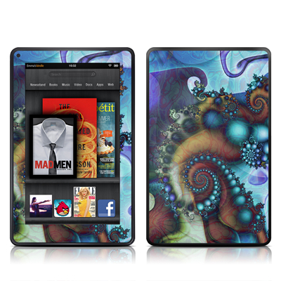 Kindle Fire Skin - Sea Jewel
